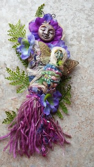 Mixed Media Spirit Doll    www.prettylittlethings.biz